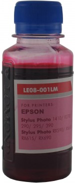 Чернила LOMOND LE08-001LM LightMagenta, 100мл, код 0205663