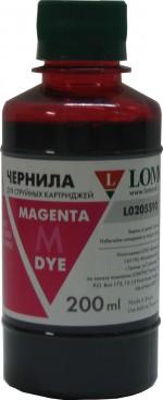 Чернила LOMOND LE08-002M Magenta, 200мл, код 0205655