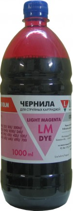 Чернила LOMOND LE08-010LM NEW LightMagenta, 1000мл, код 0205665 NEW