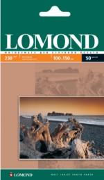 Бумага Lomond 230 г/м, матт,10х15, 50л. Код 0102034