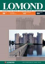 Бумага Lomond 90 г/м, матт, А3 100л. Код 0102011