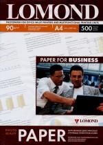Бумага Lomond 90 г/м, матт, А4 500л. Код 0102131
