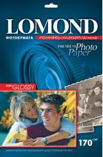 Бумага Lomond 170 г/м, полуглянец, А4, 20л. Код 1101305