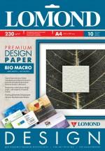 Бумага Lomond Premium глянцевая Био Макро, 230 г/м, А4/10 листов, код 0936041