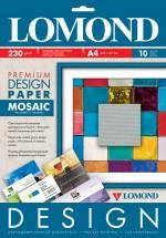Бумага Lomond Premium глянцевая Мозайка, 230 г/м, А4/10 листов код 0930041