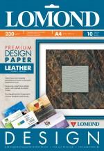Бумага Lomond Premium матовая Кожа, 230 г/м, А4/10 листов код 0917141