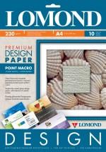 Бумага Lomond Premium матовая Пойнт Макро, 230 г/м, А4/10 листов код 0931041