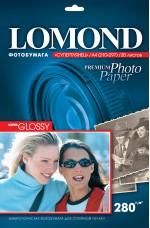 Бумага Lomond 280 г/м, супергл., А4, 20л. Код 1104101