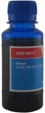 Чернила LOMOND LC09-001C, 100мл., Cyan код 0205386