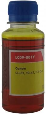 Чернила LOMOND LC09-001Y, 100мл., Yellow код 0205392