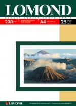Бумага Lomond 230 г/м, глянец, А4, 25л. Код 0102049