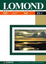 Бумага Lomond 120 г/м, матт, А4 25л. Код 0102030