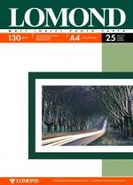 Бумага Lomond 130 г/м, матт / матт двусторонняя, А4 25л. Код 0102039