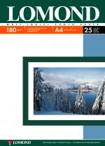 Бумага Lomond 180 г/м, матт, А4 25л. Код 0102037