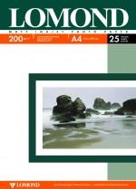 Бумага Lomond 200 г/м, Матт / матт двусторонняя, А4 25л. Код 0102052