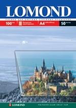 Пленка белая Lomond для цветных струйных принтеров,А4, 10л. Код 0708461