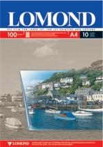 пленка универсальная Lomond для цветных струйных и лазерных принтеров, А4, 10 листов код 0710421