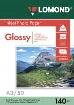 Бумага Lomond 140 г/м, глянец, А3 50л. Код 0102066