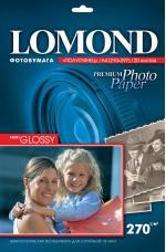 Бумага Lomond 270 г/м, полуглянец, А4, 20л. Код 1106300