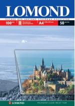 Пленка Lomond для цветных струйн.принтеров 135мкм, А4, 50л. Код 07084151